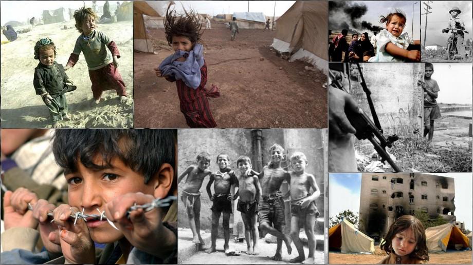 Children In War Zone